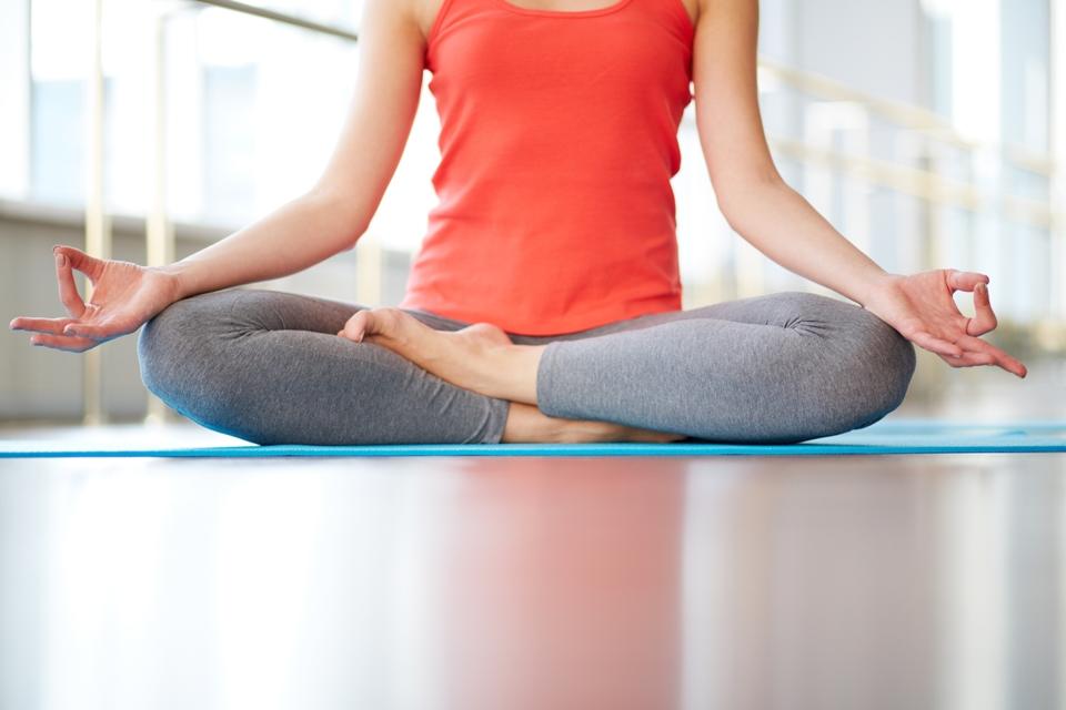Yoga with No Fashion Blunders